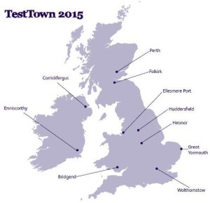 Test towns